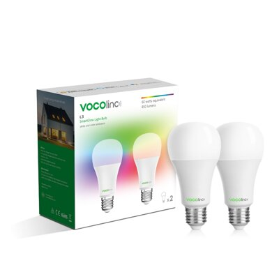 VOCOlinc L3 ColorLight Bulb 2 pcs